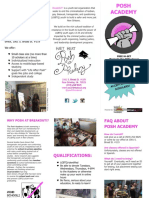 2016 Posh Academy Brochure