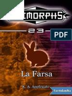 23 Animorphs - La Farsa