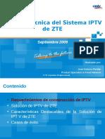 Solución Técnica Del Sistema de IPTV