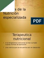 Historia de la nutricion especializada