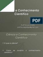 Aula 2 Ciencia e Conhecimento Cientifico