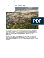 El Terremoto y El Tsunami de Samoa