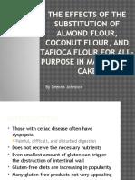 gluten-free project presentation