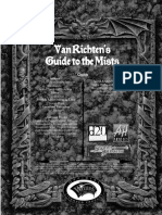 D&D 3.5 Ravenloft - Van Richten's Guide to the Mists
