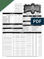 Earthdawn Character Sheet 2e