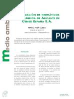 306 Valorización de Neumáticos en La Fábrica de Alicante de Cemex España