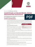 QRA Cuantificar La evaluacion Riesgo