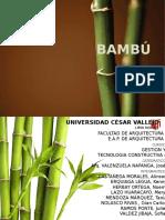 Uniones y Cortes Bambu