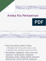Aneka Ria Perkawinan