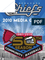 2010 Syracuse Chiefs Media Guide