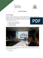 Executive Summary - Andres Cipagauta