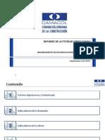 Informe Actividad Edificadora Julio 2014