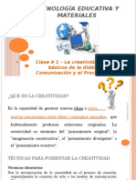 1# 1 - La creatividad - Elementos básicos de la didáctica - La comunicación y el proceso educativo.pptx