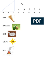 Reading Material for Non-Readers (Marungko Approach)