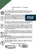 RESOLUCION DE ALCALDIA 081-2010/MDSA