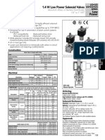 Solenoid Valve data sheet
