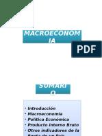 Macro Econom í A