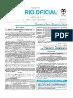 Diario oficial de Colombia n° 49.768 27 de enero de 2016