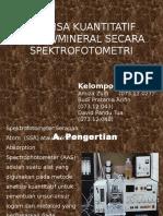 Spektrofotometri 1