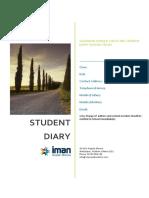 Student Diary 2015