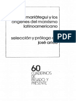 Arico Jose, Mariategui Y Los Origenes Del Marxismo Latinoamericano