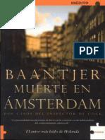 Muerte en Amsterdam - A. C. Baantjer.epub