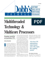02Multithreaded Technology & Multicore