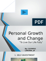 Personal Growth and Change