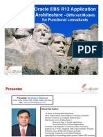 Oracle EBS R12 Application Architecture for Functional Consultants
