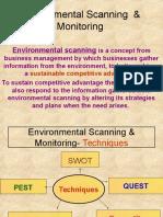 Environmental Scan SWOT