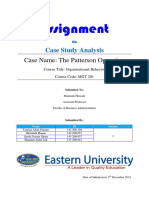 Case Study Analysis 01