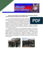 Visita y reconocimientos de las Unidades Nor-Occidental