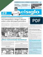 Edicion Impresa El Siglo 29-01-2016