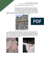 Rocas de Perisur, (trabajo personal)