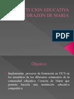 Insttucion Educativa Corazon de Maria