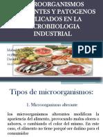 Microorganismos Alterantes y Patogenos
