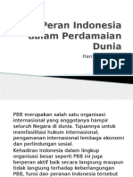 HANNY Peran Indonesia Dalam Perdamaian Dunia
