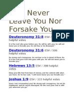 Jesus Nevber Fails