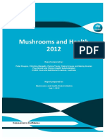 Mushrooms and Health Report 2012