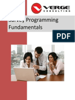 Survey Programming Fundamentals