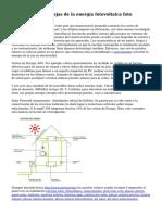 Ventajas y desventajas de la energ?a fotovoltaica foto