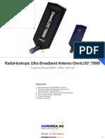 Ultra Broadband Antenna OmniLOG 70600
