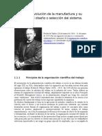 Unidad I Evolución de La Manufactura y Su Impacto en El Diseño o Selección (1)