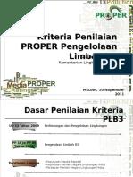Kriteria PLB3_Medan