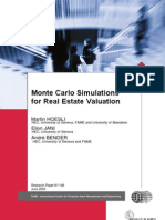 Monte Carlo Simulations for Real Estate Valuation
