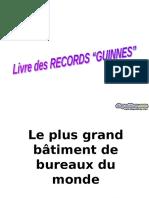 Livre Des Records