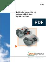 7S2 - Zaklopka Za Zaštitu Od Požara, Cilindrična-Tip PPZ-C-K90[1]