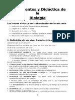 APUNTES BIOLOGÍA MAGISTERIO UCM