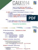Advantages of Code case 2695 and Comparison bet ASME Div 1 and Div 2.pdf