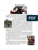Article for the Pan Pipes Magazine -SAI